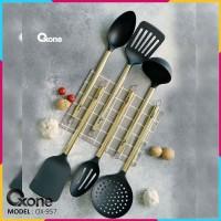 Oxone Rosegold Kitchen Tools OX-957 - Spatula Set Mewah