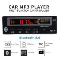 Modul Tape Audio Mobil MP3 Player Bluetooth Wireless 12V - JSD-565
