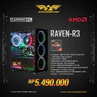 Armaggeddon PC Gaming AMD RYZEN 3 3200G 3.50GHZ / XPG 500GB SSD / 8GB