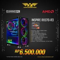 Armaggeddon PC Gaming INSPIRE-R3 + VGA Asrock RadeonRX570