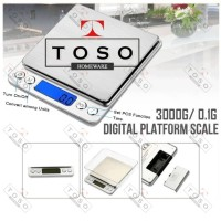 Digital Scale Kitchen Timbangan Kopi Dapur 0.1G - 3000 Gram 3 Kg i2000