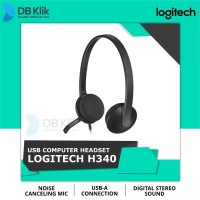 Headset Logitech H340 USB with Noise Canceling Mic - Logitech H 340