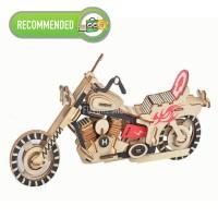 Wooden 3D Puzzle Motor Harley MENGASAH OTAK! Collection Item SERU