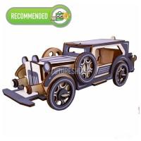 Wooden 3D Puzzle Mobil Antik MENGASAH OTAK! Collection Item SERU