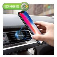 Phone Car Holder Magnet Mount untuk Handphone di AC Mobil + MAGNET