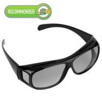 Kacamata HD Vision Anti Silau Siang Black