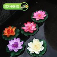 Bunga Lotus DEKORASI Kolam Taman HIAS CANTIK Praktis dan Awet