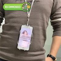 Kalung Holder Handphone Silicone MODIS FASHIONABLE yang ARTIS Pakai