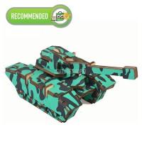 Wooden 3D Puzzle Tank SERU dan MENGASAH OTAK! Collection Item