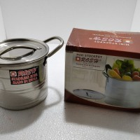 Panci / Stock Pot Mini Stainless Rosh