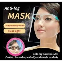 Face Shield Kacamata Nagita Masker Wajah APD Safety Pelindung Anti Fog
