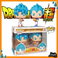 Dragon Ball Super Goku & Vegeta Baseball Exclusive Funko Pop Anime Toy