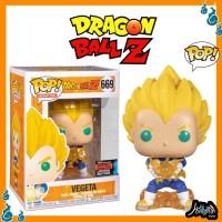 Dragon Ball Z Vegeta Final Flash NYCC Exclusive 669 Funko Pop Anime