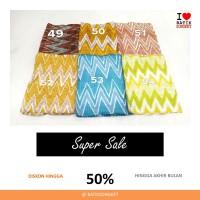 SALE VISCOS RANG-RANG PASTEL 3 bahan kain batik cap viscose viskos