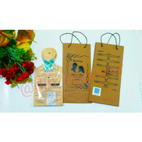 Souvenir Pernikahan Talenan Kayu 12 x 24 Sablon nama + Paper bag