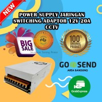 POWER SUPPLY ADAPTOR SWITCHING 12V 20A CCTV/Trafo 12 Volt 20 Ampere