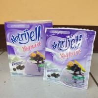 [satuan] NUTRIJELL Jelly Powder YOGHURT rasa BLACKCURRANT 35 gram