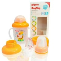 Pigeon MagMag All in One Training Cup Set 3+