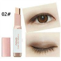 NOVO Double Color Eyeshadow Stick Ombre Two Tone