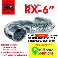 alumunium Flexible ducting 6 inch 15 meter