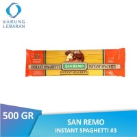 [PACK] San Remo Instant Spaghetti #3 500 GR