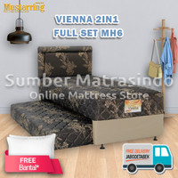 Kasur Springbed Musterring Vienna 2in1 100X200 FULL SET MH6
