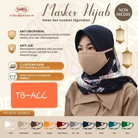 Masker Hijab SRITEX non medis anti mikrobial dan air