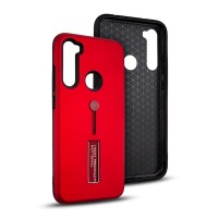 Xiaomi Redmi Note 8 Silicone Ring Stand Lux Armor Case Shockproof
