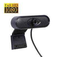 Webcam 1080p Full HD with Microphone High Resolution Web Cam Camera