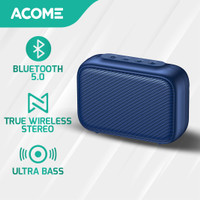 Acome A1 SENSE Speaker Bluetooth 5.0 Portable Ultra Bass TWS