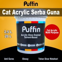 Cat Acrylic Multi Purpose - Puffin Acrylic Gloss Enamel - Solvent 2.5L