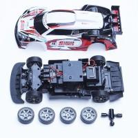 Obral Murah Kit RC Drift 4WD skala 1:16 bonus body + ban drift + kunci