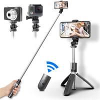 3 in1 Selfie Stick Tongsis Bluetooth Shutter Tripod Holder L02