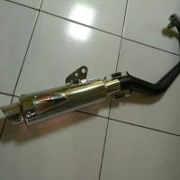 Knalpot Racing Custom Piaggio Liberty / zip 100