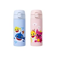 Tumbler LocknLock Exclusive Feather Light Pinkfong Edition One Touch
