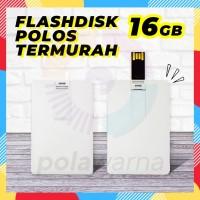 Flashdisk Kartu Polos 16GB - Flash Disk 16GB - Flashdisk Custom Print