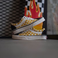 Vans Bold Ni Checkerboard Black/Mango Mojito