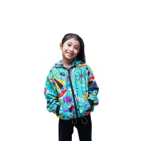 Lucky Cla - Kids Pasar Malam Jacket Water Repellent - XS