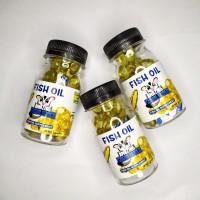 Fish oil / minyak ikan suplemen untuk kucing, anjing, sugar glider