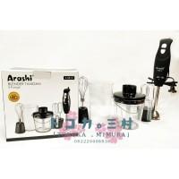 ARASHI Hand Blender and Mixer 5 in 1 - Blender Tangan Multi Fungsi