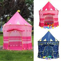 Tenda Mainan Bermain Anak 135 X 105 cm Kastil Istana Mandi Bola Tent