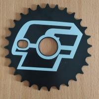 Gear / gir depan sepeda BMX GT 28T diameter 11.5 cm