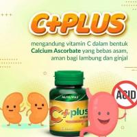 Vitamin C (C+ Plus) isi 60 Tablet, BPOM/ Daya Tahan Tubuh