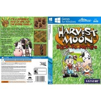 DVD Game Harvest Moon Back To Nature PC Laptop