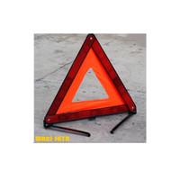 Emergency Triangle Warning Sign Segitiga Pengaman Mobil Reflektor 43CM