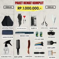 Paket Hemat Komplit Alat Cukur Rp1.000.000/ Alat Barber / Alat Pangkas