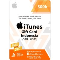 iTunes - IGC - Indonesia - 500 - Add Funds