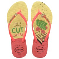 Havaianas Slim Cool 7598-Lemon Yellow - Sandal Wanita