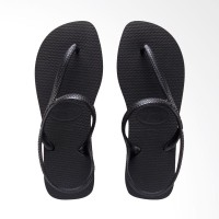 Havaianas Flash Urban 0090-Black - Sandal Wanita