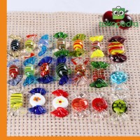 20Pcs/Set Vintage Glass Sweets Wedding Party Candy Miami